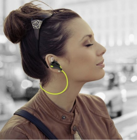 EY11B Sport headphones w: female model.jpg